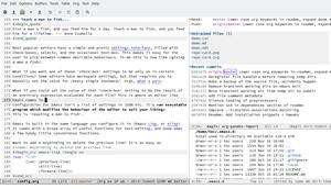 Emacs text editor untuk pemrograman