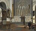 Emanuel de Witte - View of the choir of St John's church in Utrecht .jpg