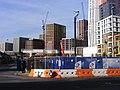 Embassy Gardens SW8, Nine Elms Northern Line extension underground station.jpg