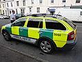 Emergency Ambulance Skoda Octavia Estate (YC61 UZW) (7865200896).jpg