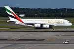 Emirates, A6-EED, Airbus A380-861 (28382915341).jpg