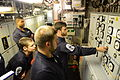 Engineers Conducting Switchboard Drills onboard HMS Northumberland MOD 45155646.jpg