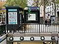 Entrée Station Métro Jacques Bonsergent Paris 3.jpg