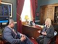 Erik Rosales interviewing Debbie Lesko.jpg