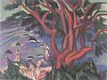 Ernst Ludwig Kirchner - Roter Baum am Strand - 1913.jpeg