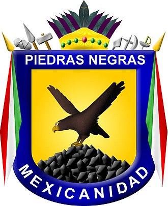 Piedras Negras, Coahuila - Image: Escudo Piedras Negras