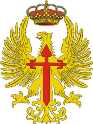 """6th Infantry Regiment """"Saboya"""" - Image: Escudo del Ejército de Tierra"""