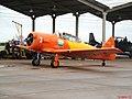 Esquadrilha da Fumaça 60 anos - Pirassununga - Show Aéreo com a Esquadrilha Oi, com os aviões NA T-6. - panoramio.jpg