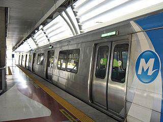 Cidade Nova Station metro station in Rio de Janeiro, Brazil