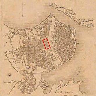 El Capitolio - Image: Estación Villanueva La Habana (1850)