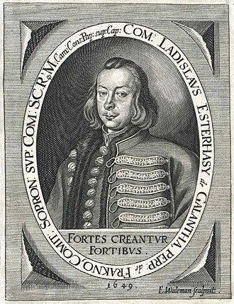 Ladislaus, Count Esterházy - Image: Esterházy László Widemann