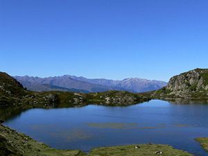 """Appy - The """"Etang d'Appy"""" in Summer"""