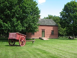 National Register of Historic Places listings in Chittenden County, Vermont - Image: Ethan Allen Homestead
