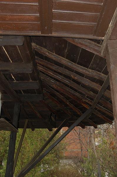 File:Ethnological Museum - Pristina - 13 - roof.JPG Description English: Underside of overhanging wooden roof at the Ethnological Museum (Muzeu Ethnologjik Emin Gjiku), Pristina