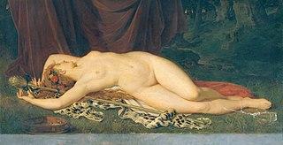 Schlafende Bacchantin