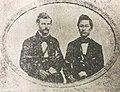 Eugene Van Reed and Joseph Heco, c. 1858.jpg