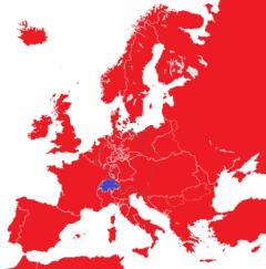 Europa 1815 Monarchien gegen Republiken.png