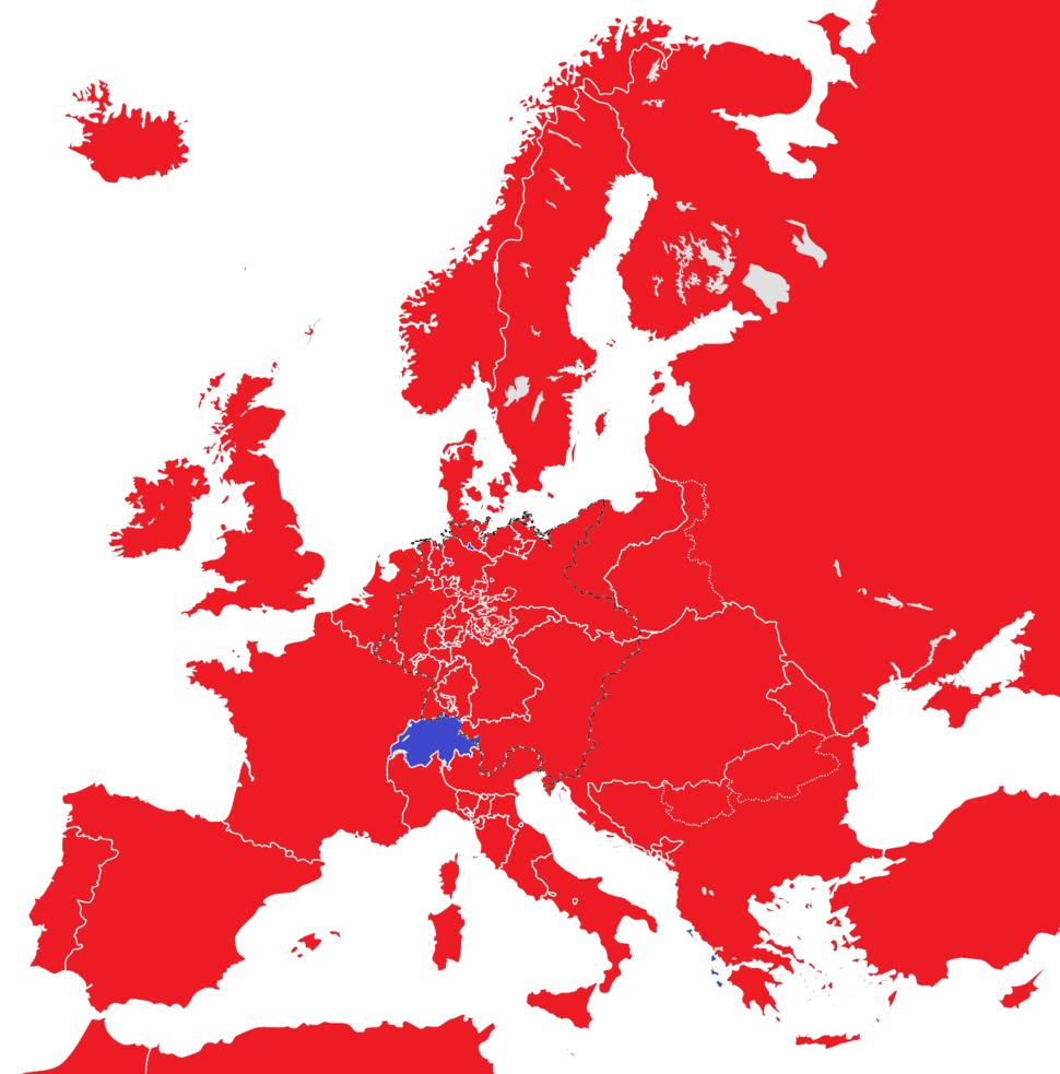 Europe 1815 monarchies versus republics