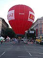 European Car Free Day, HA-880 balloon, 2016 Budapest.jpg
