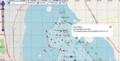 Ever Given - Havarie im Suez-Kanal 30-3-2021 OpenSeaMap.png