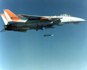 ADM-141 TALD - F-14 launching a TALD