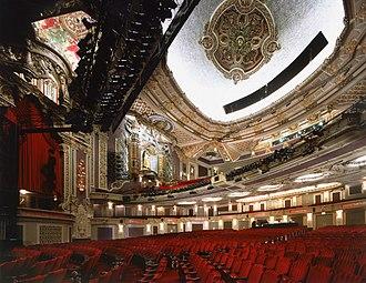 Nederlander Theatre (Chicago) - Auditorium of the James M. Nederlander Theatre