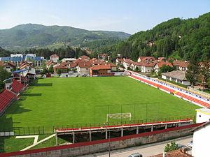 2016–17 Serbian SuperLiga - Image: FK Javorstadion