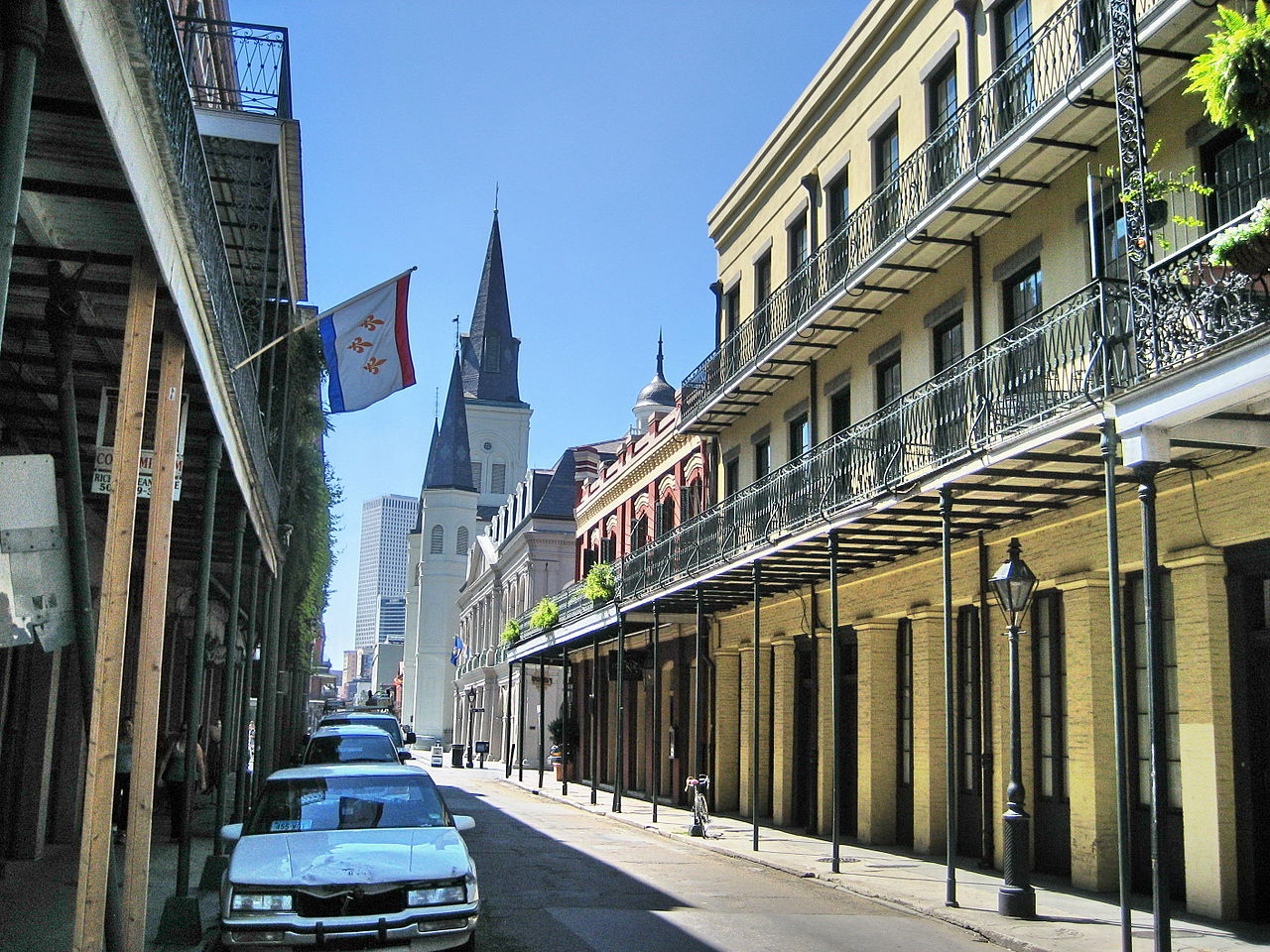Bairro francês, New Orleans.