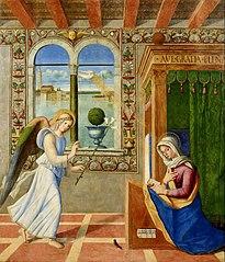 Annunciazione (Francesco di Simone da Santacroce]]