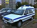 FSO Polonez Cargo based ambulance in Gdansk.jpg
