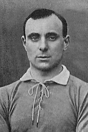 Fred Rouse (footballer) - Rouse while with Chelsea in 1907