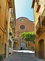 Façana de l'església Nova d'Alcover - panoramio.jpg