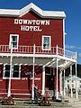 Facade of Downtown Hotel - Dawson City - Yukon Territory - Canada.jpg