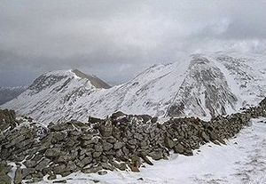 Fairfield (Lake District) - Fairfield (right) and St Sunday Crag, seen from Seat Sandal