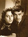 Fairuz and her brother Yusuf - 1953.jpg