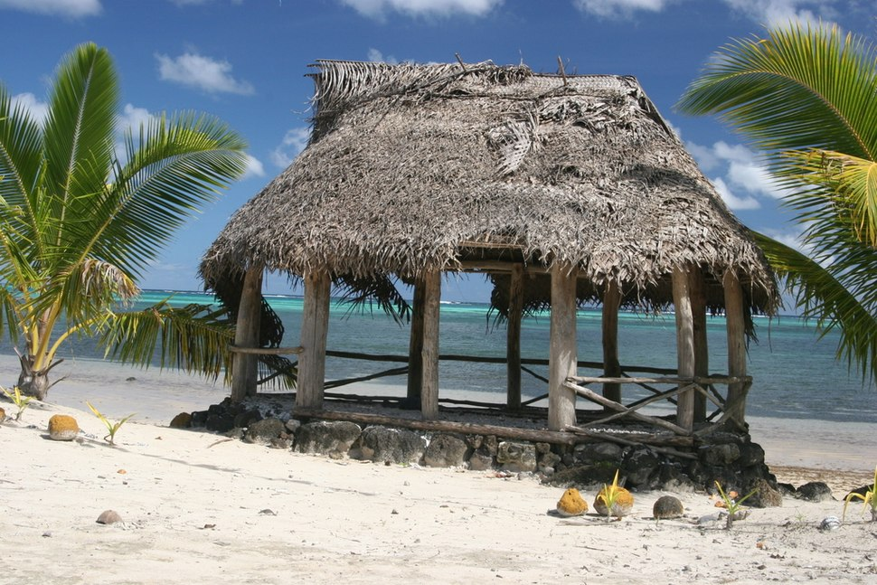 Fale on Manono Island