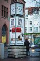 Falke-Uhr clock Egestorffstrasse Niemeyerstrasse Linden-Mitte Hannover Germany.jpg