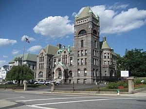 Bristol County Superior Court (Fall River, Massachusetts) - Image: Fall River 21June 07Superior Courthouse