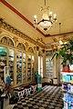 Farmacia dei Quattro Cantoni, con arredi neoclassici, disegnati nel 1830 da Agostino Fantastici.jpg
