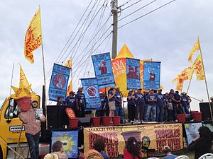 Coalition of Immokalee Workers - Farmworkers protests organized by the Coalition of Immokalee Workers
