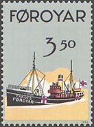 Faroe stamp 195 trawler nyggjaberg