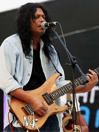 James (musician) - James performing in Tri-Nation Mega Festival, 2012