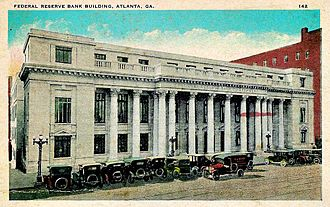 State Bar of Georgia - Federal Reserve Bank of Atlanta after expansion in 1920 and possibly after additional expansion in 1922