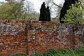Feeringbury Manor buttressed brick wall, Feering Essex England.jpg