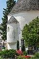 Feldkirchen Kirchgasse Friedhof Karner rom. Apsis NO-Ansicht 02082018 6118.jpg