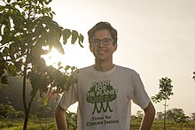Felix Finkbeiner at the Plant-for-the-Planet Yucatán Reforestation Project.jpg