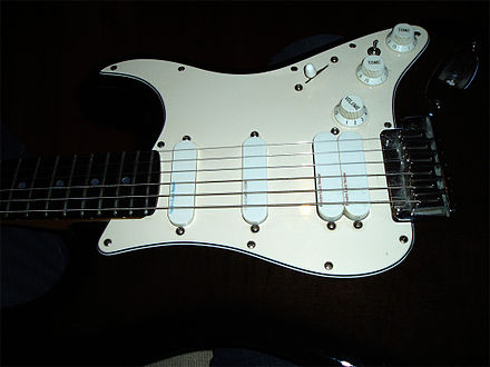 Strat plus wikiwand pickguard of a fender strat ultra showing the three types of lace sensor pickups publicscrutiny Images