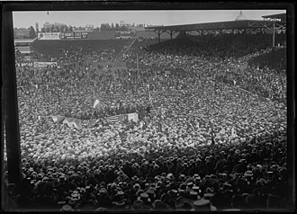 Fenway Park - Fenway Park Rally Supporting Irish Independence (1919)