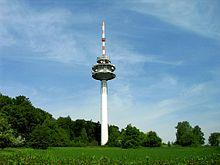 220px-Fernmeldeturm-Gruenwettersbach dans Attentats