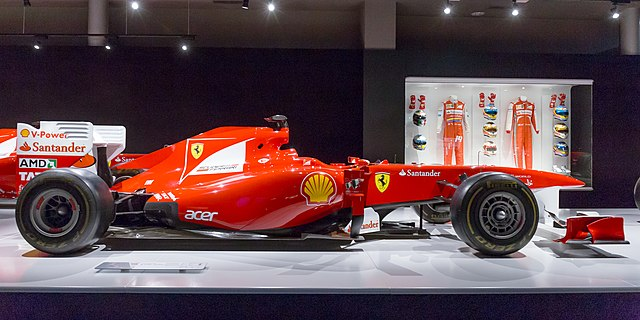 Ferrari 150° Italia right 2017 Museo Fernando Alonso